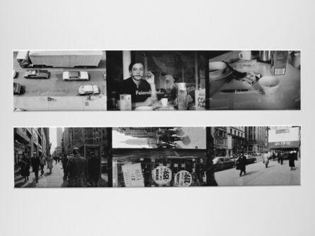 Max Regenberg, 'Ohne Titel # 1981, L.B. System Köln-New York', 1981
