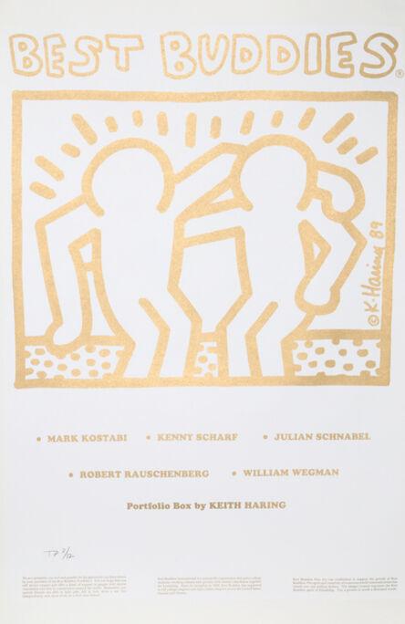 Keith Haring, 'Best Buddies Portfolio Coversheet', 1993