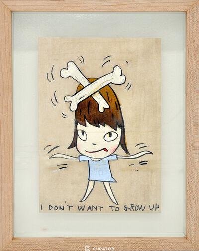 Yoshitomo Nara, 'I Don't Want To Grow Up', 2010-2020
