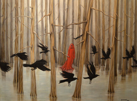 Trace Yeomans, 'Dream of Ravens', 2014