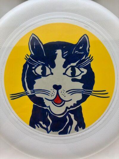 """Roy Lichtenstein, '""""Laughing"""" Cat frisbee', 1962/2013"""