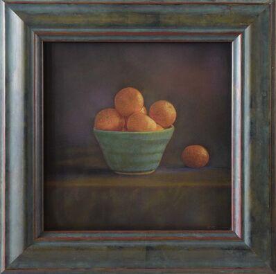 Kate Breakey, 'Mandarines in Blue Vase ', 2020