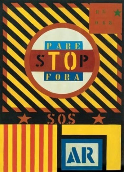 Rubens Gerchman, 'Tô Fora SP ', 1968