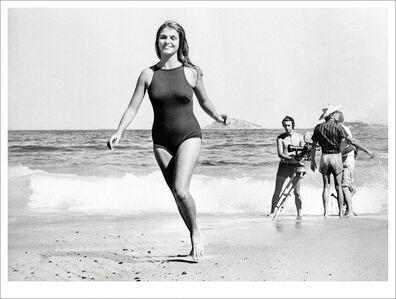Evandro Teixeira, 'Leila Diniz, filmando, 1968'