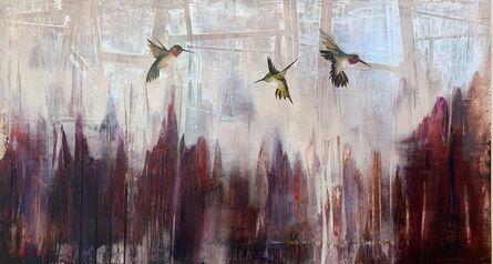 Jenna Von Benedikt, 'Feathers on Rubies', 2018