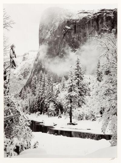 Ansel Adams, 'El Capitan, Winter'