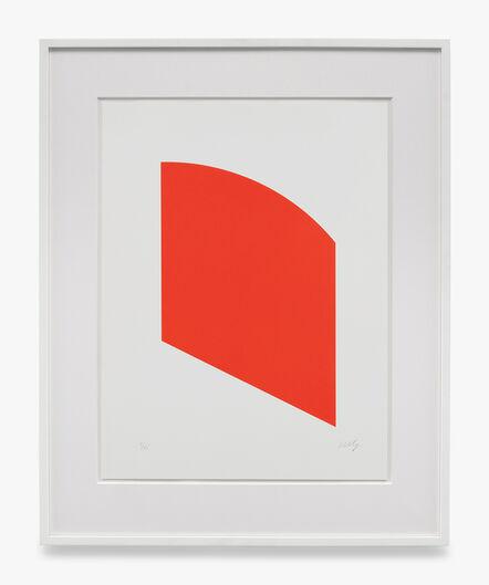 Ellsworth Kelly, 'Red', 2003