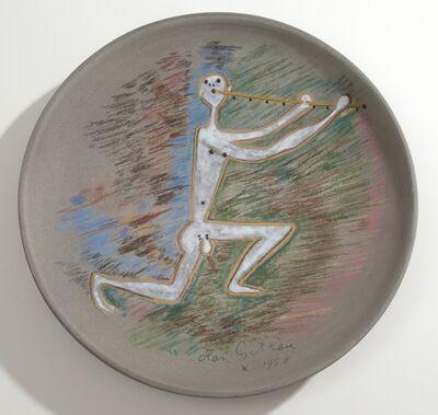 Jean Cocteau, 'Danseur Nu à la Flute. Nude Dancer Playing the Flute.', 1958