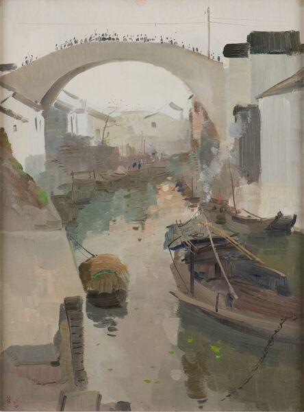 Wu Guanzhong, 'Hometown Morning (故乡之晨)', 1960