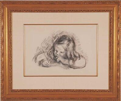 Pierre-Auguste Renoir, 'Le Petit Garcon au Porte-Plume', 1902-1903