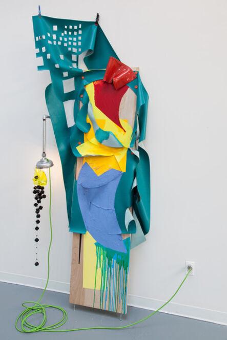 Jessica Stockholder, 'Boot Weaving', 2014
