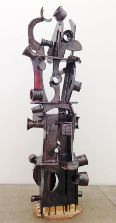 Ann Agee, 'Dipped Then Upright', 2013