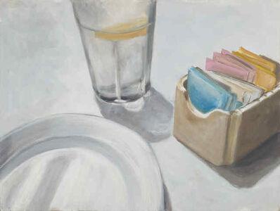 "Eve Plumb, '""White Plate""', 2016"