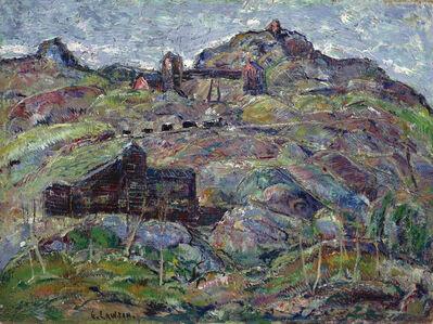 Ernest Lawson, 'The Elkton Mine, Cripple Creek, Colorado', ca. 1927