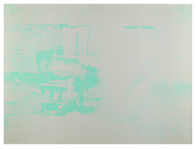 Andy Warhol, 'Electric Chair (F. & S. II.77)', 1971