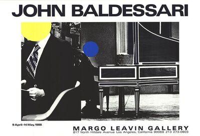 John Baldessari, 'Margo Leavin Gallery', 1988