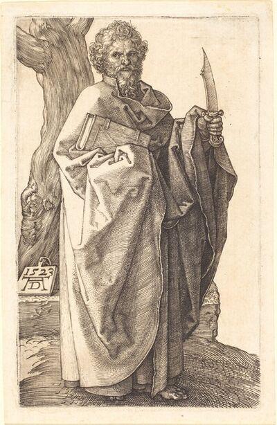 Albrecht Dürer, 'Saint Bartholomew', 1523