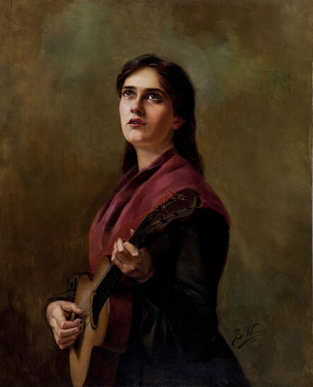 Berthe Worms, 'Sentimental Song', 1904