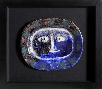 Pablo Picasso, 'Visage Brun-Bleu (Ramie 2)', 1947