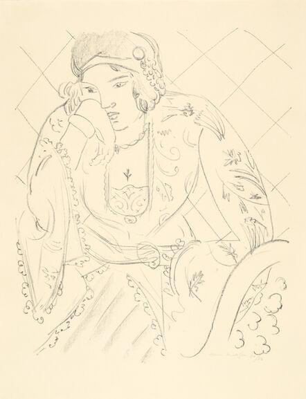 Henri Matisse, 'Orientale à la croix trifoliée', 1929