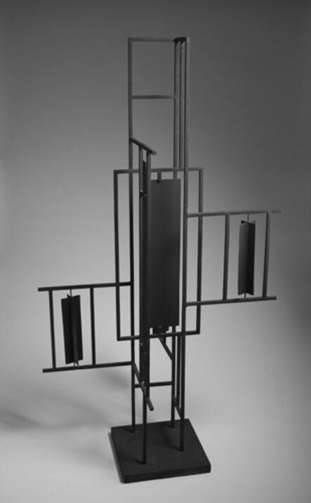 Victor Valera, 'Factor petróleo', 1956