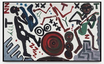 A.R. Penck, 'Musiker (Musicians) ', 1988