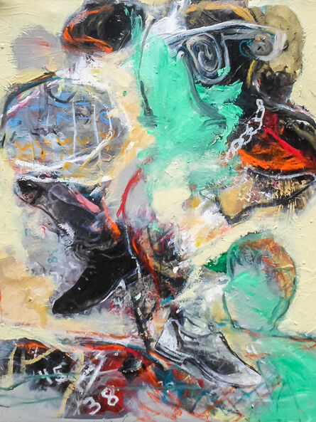Francis Mampuya, 'La Sape 2', 2017