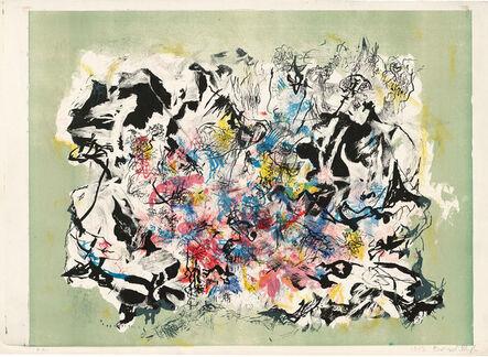 Bernard Schultze, 'AUF GRÜN', 1953