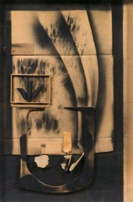 Louise Nevelson, 'Collage', 1974