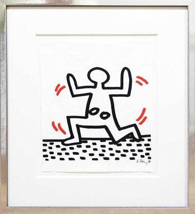 Keith Haring, 'Running Girl', 1982