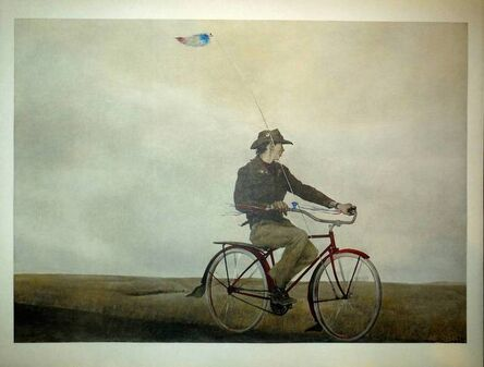 """Andrew Wyeth, '""""Young America"""" 1956 Collotype', 20th Century"""