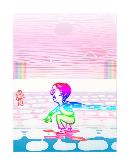 Libby Hague, 'THE FUTURE SURFS IN, Arctic Grace', 2020