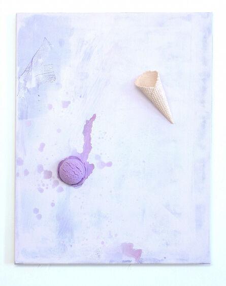 soshiro matsubara, 'Floatingice cream(Purple)', 2014
