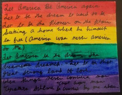 Ariella Kadosh, 'America is...Gay Pride', 2020