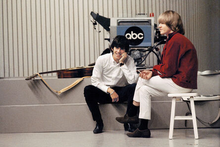 Jean-Marie Périer, 'Keith Richards & Brian Jones, Los Angeles 1967', 1967