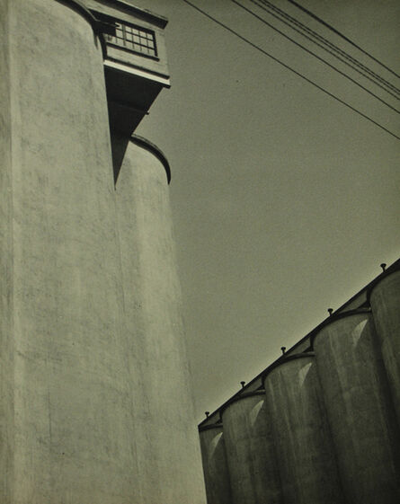 John Vanderpant, 'Untitled (cylinders and lines)', 1934