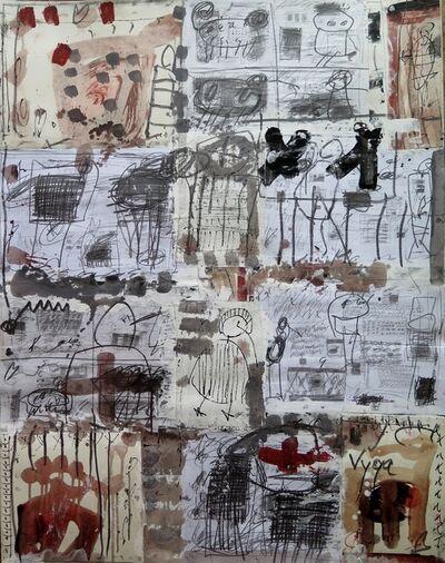 Vigintas Stankus, 'Collage VI', 2015