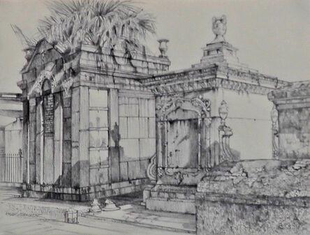 Shirley Rabe' Masinter, 'Tombs (study)', 2015