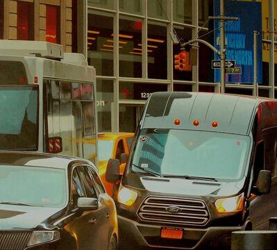 Gus Heinze, 'Times Square Traffic', 2019