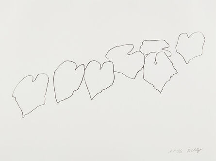 Ellsworth Kelly, 'Wild Grape Leaves I, from Series of Five Plant and Flower Lithographs', 2004