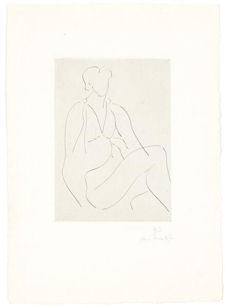 Henri Matisse, 'Jeune femme assise, robe sans manches', 1938