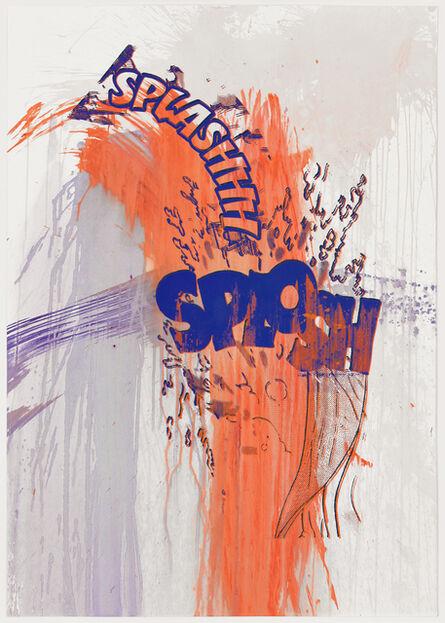 Christian Marclay, 'Actions: Splashhh Splosh (No. 8)', 2012