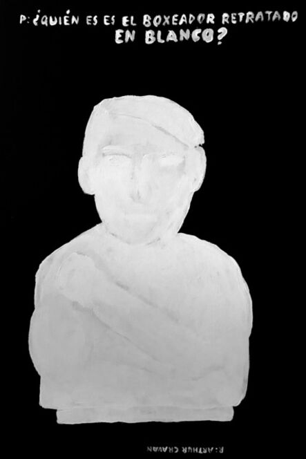 Alejandro Magallanes, 'Arthur Cravan', 2018