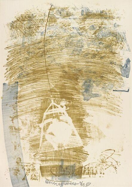 Robert Rauschenberg, 'Spore (Stoned Moon)', 1969