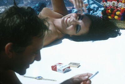 Bert Stern, 'Elizabeth Taylor and Richard Burton', 1962