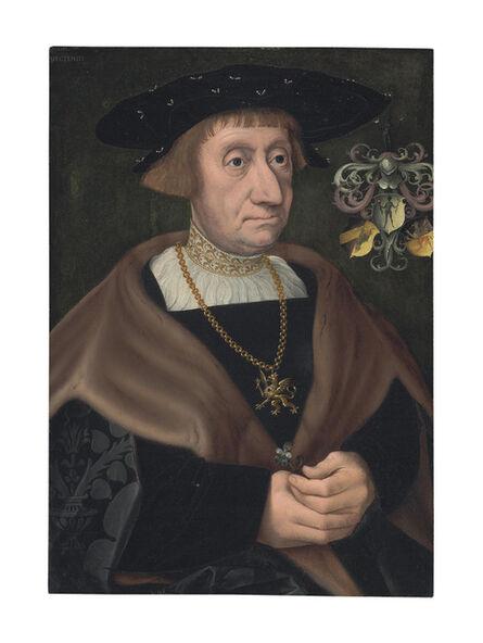 Jacob Claesz. van Utrecht, 'Portrait of Mathias Mulich (1470-1528), Burgomaster of Lübeck, half-length'