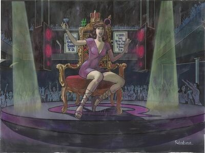 Robodrone, 'Hashtag Queen Coronation', 2018