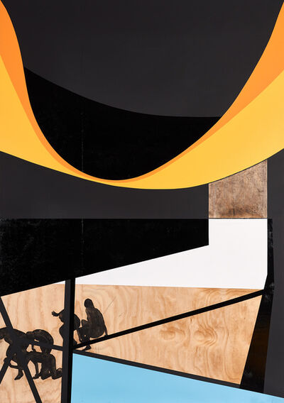 Serge Alain Nitegeka, 'Ode to Black II', 2017