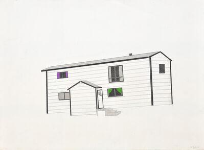 Itee Pootoogook, 'untitled (house)', 2011