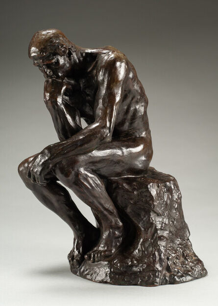 Auguste Rodin, 'Le Penseur (The Thinker), Petit Modèle', Conceived in 1881, 1882; this example cast by Alexis Rudier between 1920, 1930.